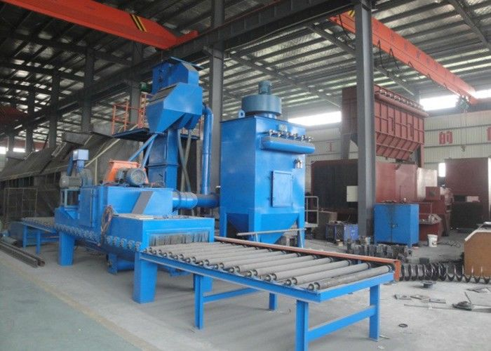 Customized Design H Beam Shot Blasting Machine For Aluminum Profiles