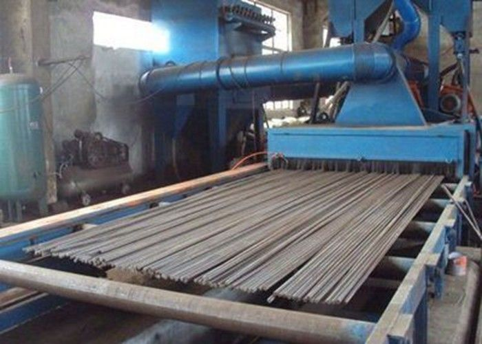 Steel Structure Blast Cleaning Machine Accurate Rust Removal 2000mm Cleaning Width